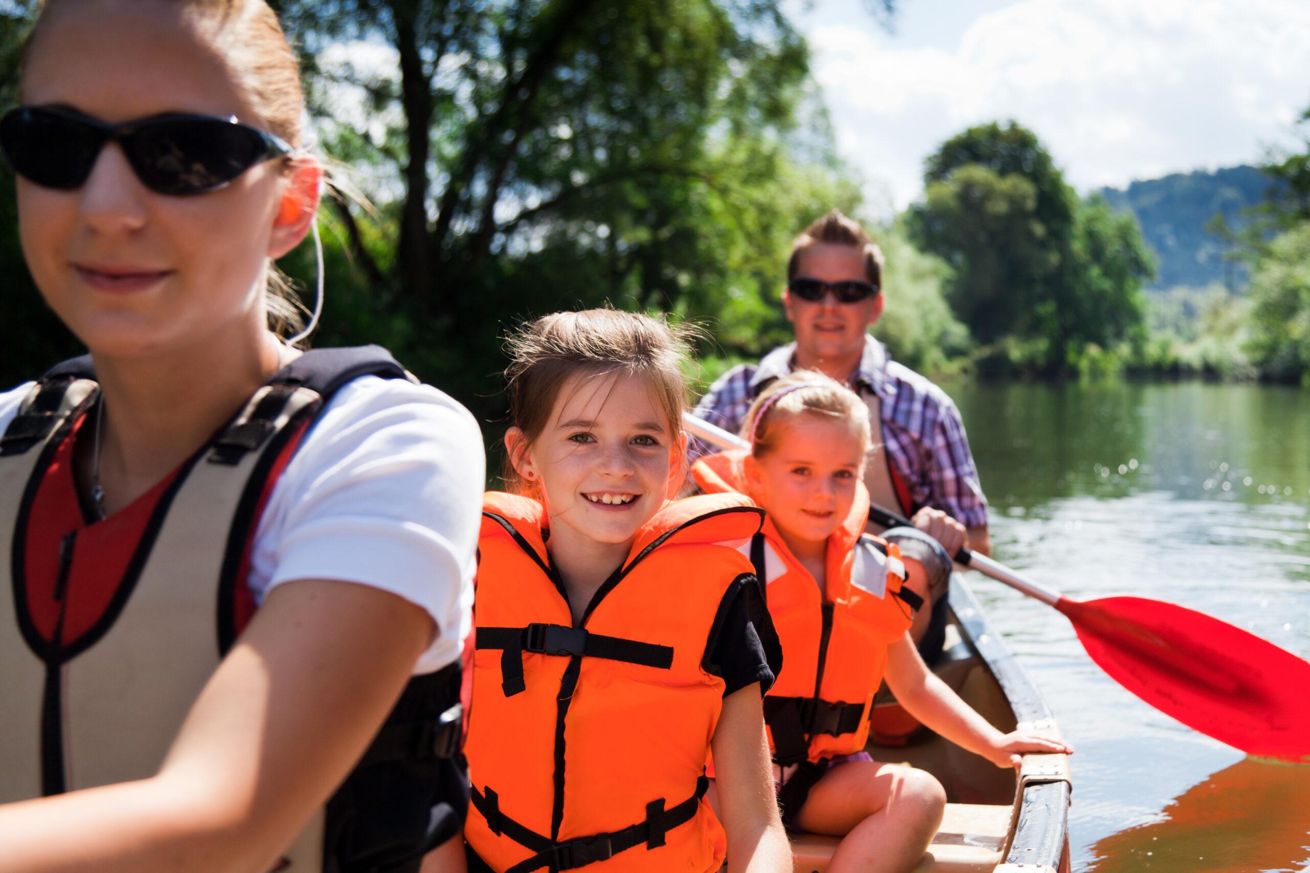 Porters Heath Family on Water